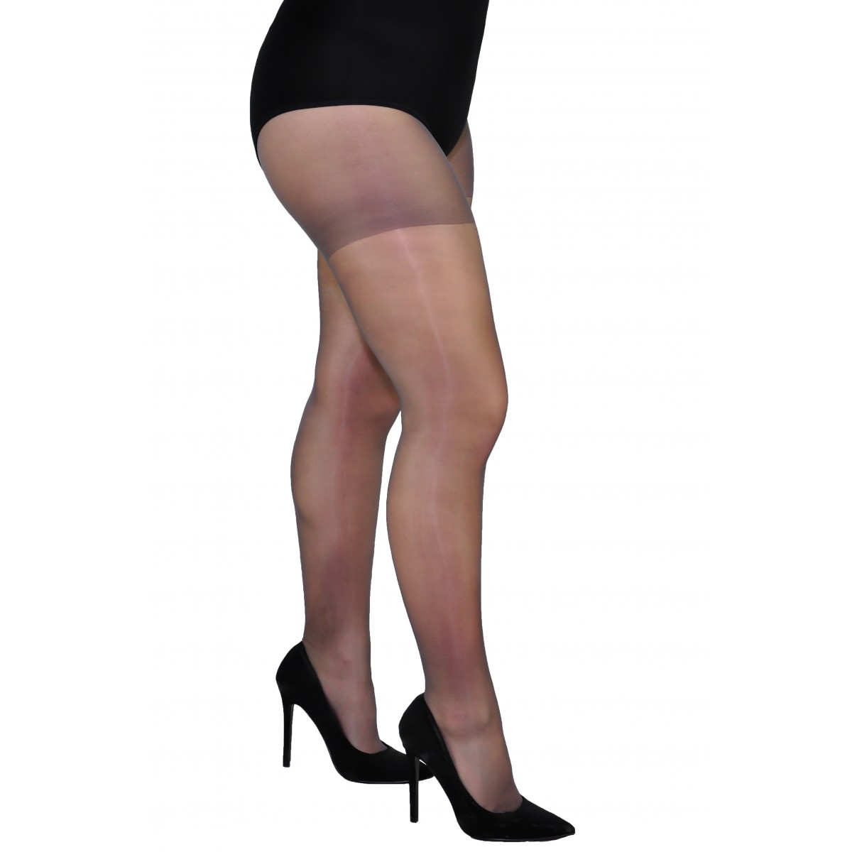 feb3822e4 Plus size sheer delicate lycra tights - 8-20 Den - Classic Tights ...