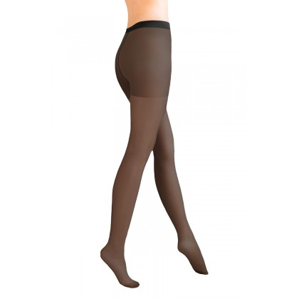 Julia Classic Black Lycra Tights 40 Den By Aurellie