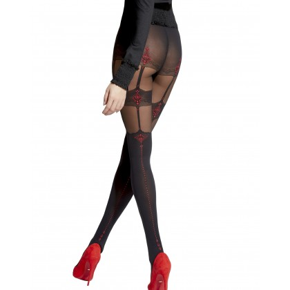 Cecile Patterned Tights