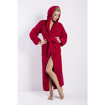 Exclusive Soft Long Hooded Bath Robe Diana