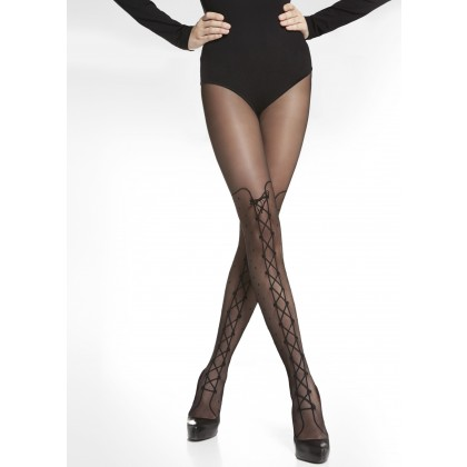Katy 20 Denier Patterned Tights