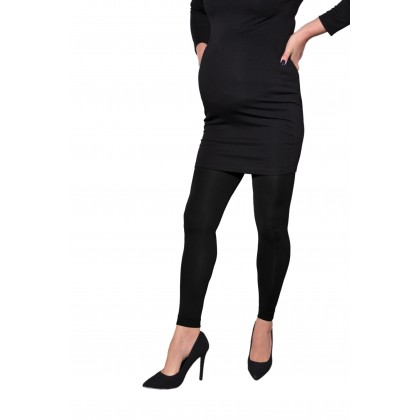 Magnolia 100 Denier Maternity Leggings Black