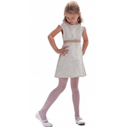 Marika White Tights Kids