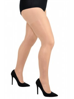 Plus size sheer delicate lycra tights