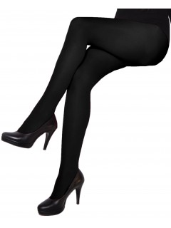 Natally Black 60 Den microfibre Tights by aurellie