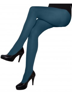 Natally Teal 60 Den microfibre Tights by aurellie