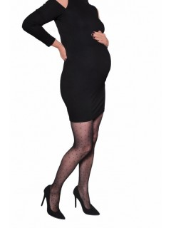 Ambrosia 20 Den Black Maternity Tights