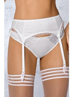 B-151 WHITE SUSPENDER BELT WIESMANN