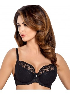 B-270 Celeste Semi Soft Bra Wiesmann Black Sale
