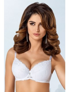 B-271 Demi White Bra Push Up