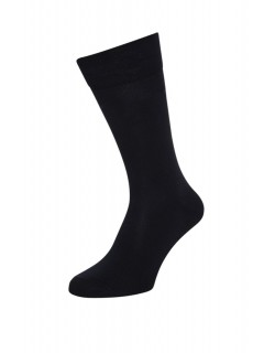 Boys School Plain Cotton Socks Black 1 Pair