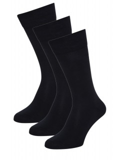Aurellie Boys Black School Cotton Socks 3 Pack