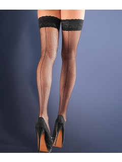 Fishnet hold ups stockings small scale Calze Fishnet 155