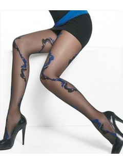 Chloe 20 Denier Multicolour Patterned Tights Adrian