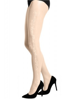 Ivory Sheer Bridal Tights Clementine Gabriella