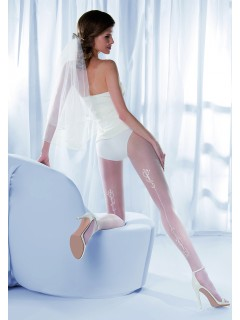 Charme 03 White Tights