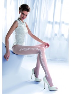 Charme 05 White Tights