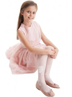 Cynthia White Tights for Kids
