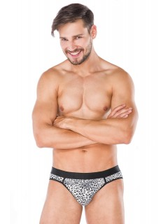Men Animal Print Mini Briefs Andalea MC/9069