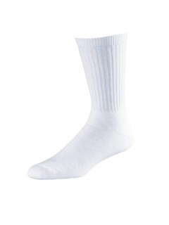 AURELLIE BOYS SPORTS COTTON RIBBED SOCKS WHITE