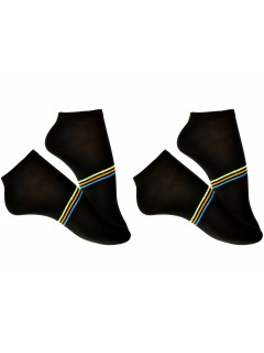 Men rich cotton everyday trainer sport socks 2 Packs UK 7-9