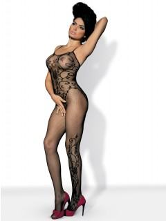 F 205 Black bodystocking  By Obsessive