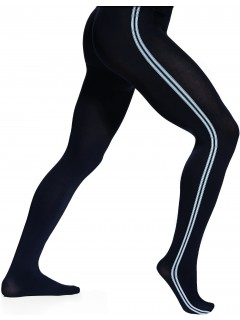 Sport 60 Denier Men Tights Black/White