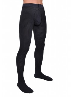Strips 40 denier Jeans Men Tights