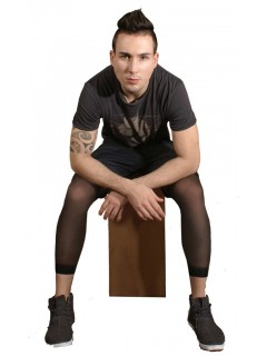 Urban 20 denier Black Men Leggings
