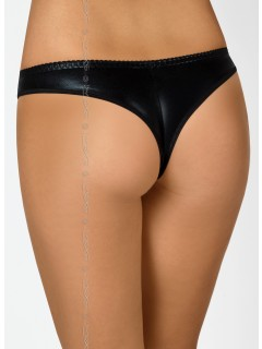 V-6355 piment black thong axami