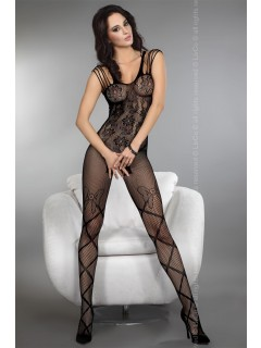 Zoleen Black Bodystocking